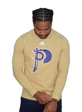 Adidas Alternate Long Sleeve- Gold