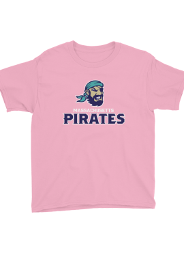 Pirates Primary Youth T-Shirt- Pink