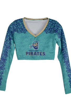 Pirates Vintage Dance Team Top