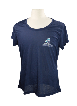 Pirates Primary Womens Shirt- Navy