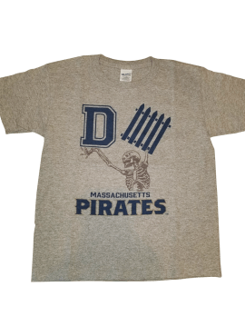"Pirates ""D-Fence"" Unisex Youth T-Shirt- Heather Gray"