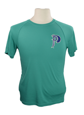 Pirates Alternate Youth Athletic T-Shirt- Teal