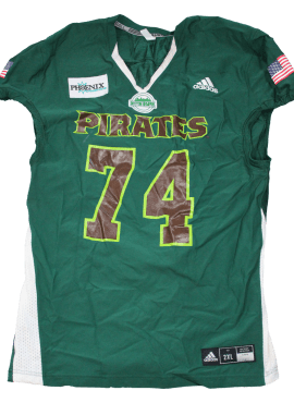2021 Military Appreciation Night Home Jersey- #74- Lucas (Game Worn)