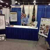 Our Booth at MCOPA Trade Show