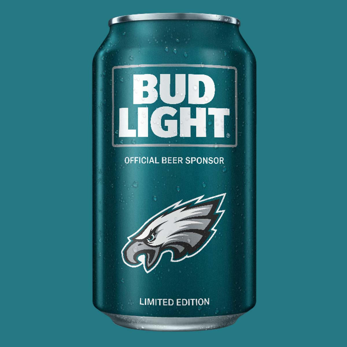 Football Bud Light Cans