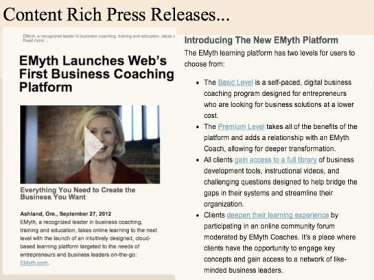E6 Press Releases