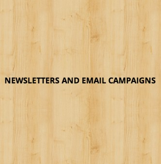Newsletters and email campaigns