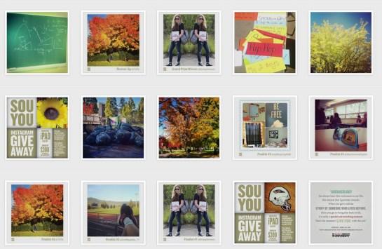 SOU instagram grab of all grid