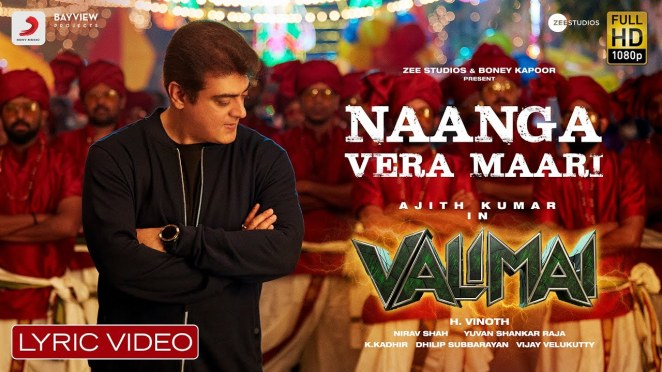 Valimai Tamil mp3 songs Download
