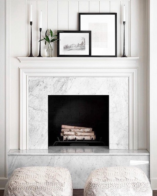 False-fireplace with their own hands - instructions with photos and drawings