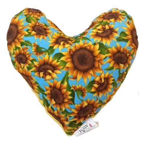 mastectomy heart pillow small