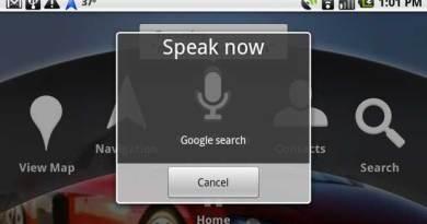 Google Voice Command