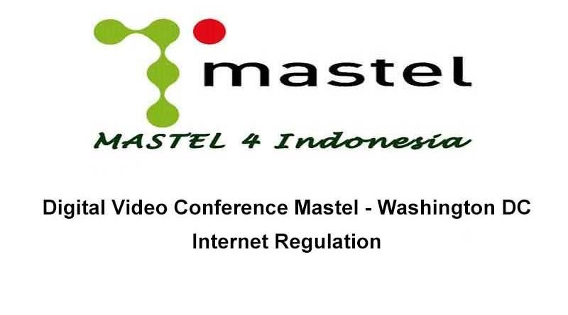 Mastel - Washington DC, Internet Regulation