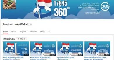 Acara Upacara Peringatan Kemerdekaan RI Disiarkan Langsung Secara 360 Derajat