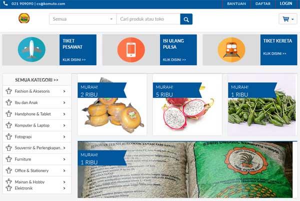 Situs Pasar Online Bantu Warga Desa Pasarkan Produk Online
