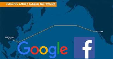 Google Facebook Kabel Bawah Air