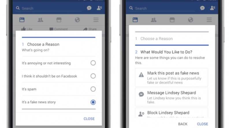 Facebook Rilis Fitur Untuk Hadapi Berita Bohong