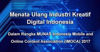 Menata Ulang Industri Kreatif Digital Indonesia