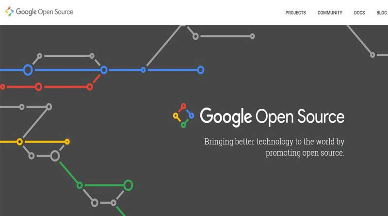 Google Open Source Website
