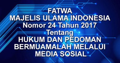 Fatwa Majelis Ulama Indonesia No. 24 Tahun 2017