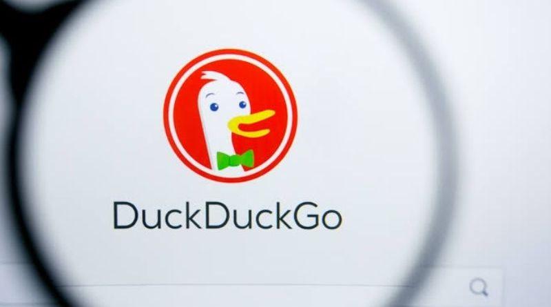 Ilustrasi DuckDuckGo