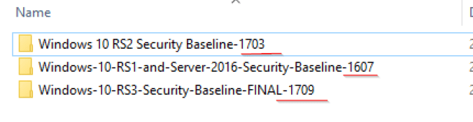 Group Policy Security Baselines and Windows as a Service - a