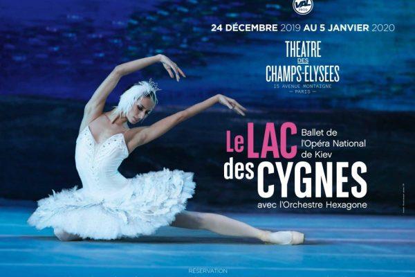 Le lac des cygnes par le ballet de Kiev