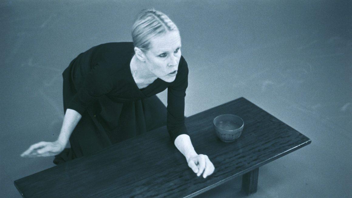 Interview de Carolyn Carlson – chorégraphe