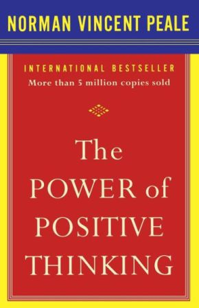 Cover page of the Power of Positive Thinking