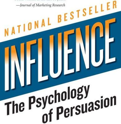 Cover page of the book Influence: The Psychology Of Persuasion by Robert Cialdini Revised Edition