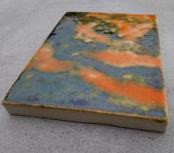 Шамотная плитка термостойкая глазурованная 1