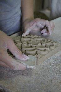 Плитка для камина 4