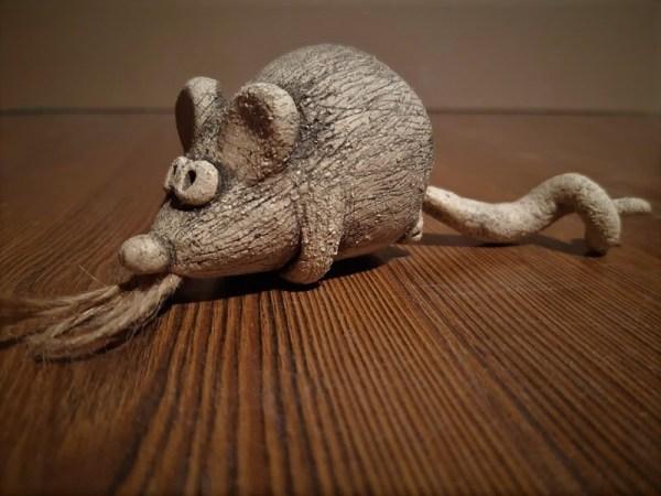 Новогодняя мышка (колокольчик) 1