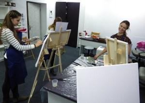 художественные уроки маслом в Киеве