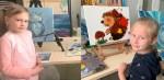 Уроки рисования маслом для детей 03.03.2019