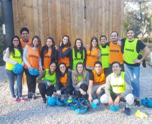 Participants of the International Master in Marketing- Bilingual programme at EADA´s Residential Training Centre.