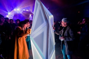 One of many interactive lighting experience designed by ProtoPixel.