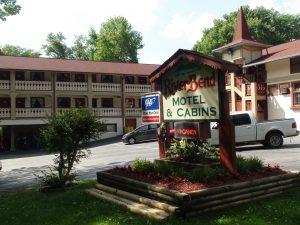 Motel in Helen Georgia