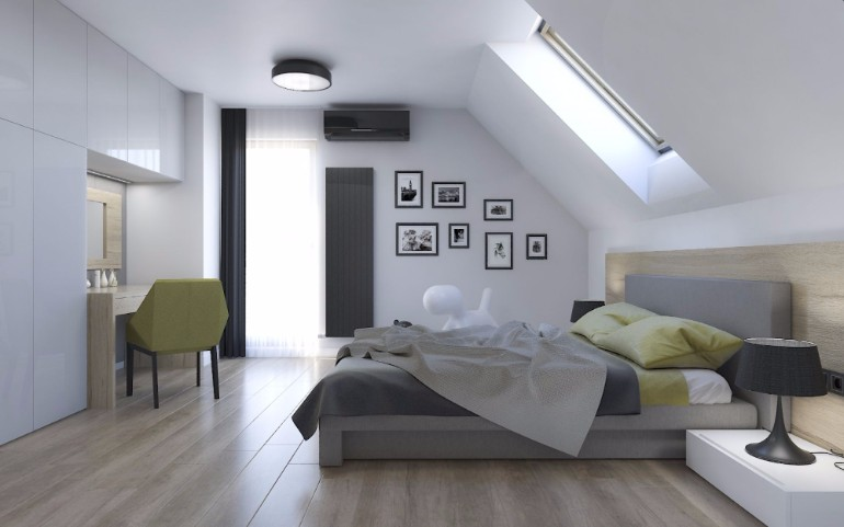 12 Masterfully Decorated Attic Bedrooms