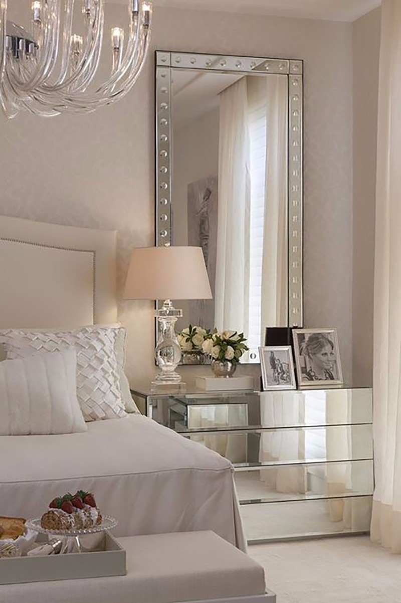 10 ideas for placing a mirror inside a