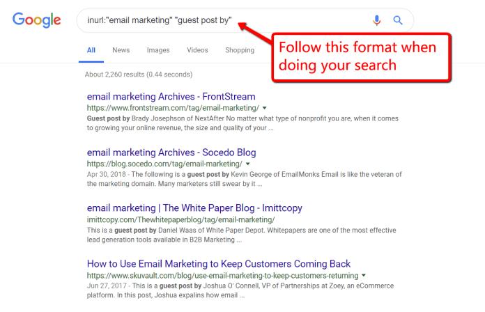 Find Guest Blogging Sites