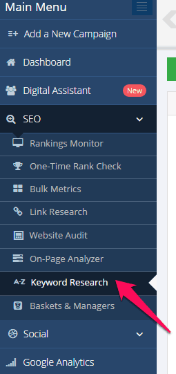 Mondovo SEO Keyword Research