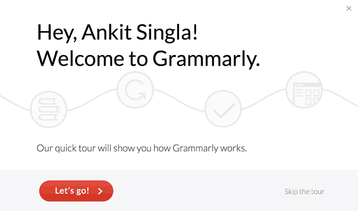 Welcome to Grammarly