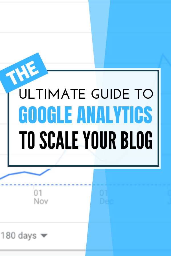 Google Analytics Guide Bloggers pin