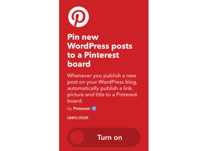 WordPress to Pinterest
