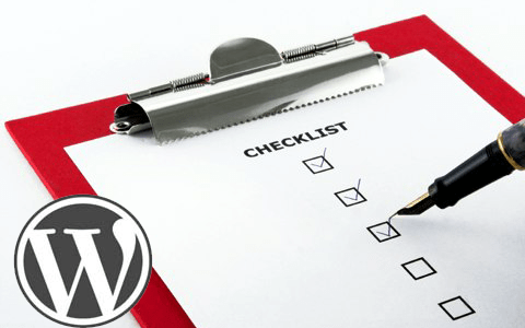 wordpress blog configuration