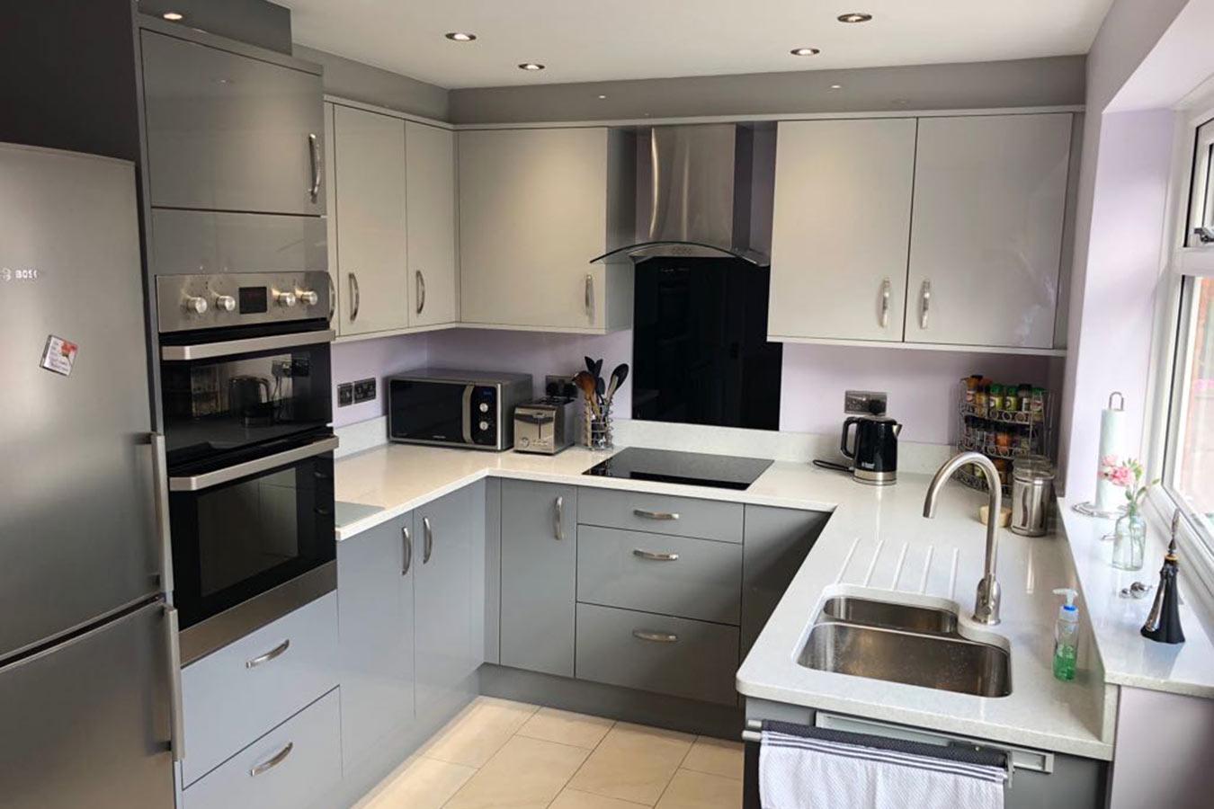 Modern Small Kitchen Ideas Grey   Novocom.top