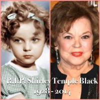 Child Star, Shirley Temple, Dies At 85. Oh The Memories!