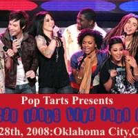 American Idol Season 7 Tour in Oklahoma City Oklahoma on August 28th, 2008