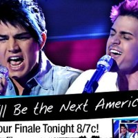 American Idol Season 8 Vocal Masterclass Discussion For The Finale Featuring Top 2 Finalists Adam Lambert And Kris Allen.